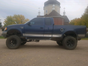 Lifted 2002 ford f150