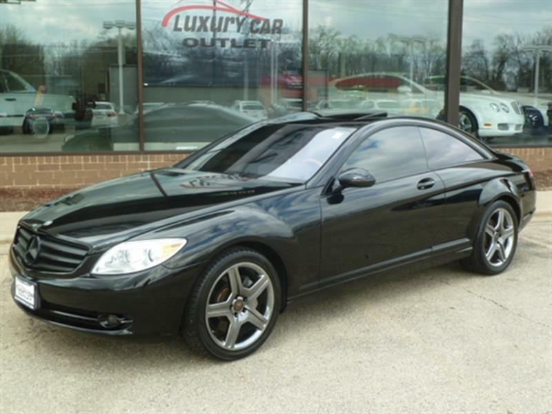 2009 Mercedes-benz Cl-class Cl 550 4matic Awd 2dr Coupe ...