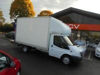 2010 FORD TRANSIT 115 T350L RWD LUTON BOX VAN TAIL LIFT