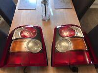 Range Rover sport back lights