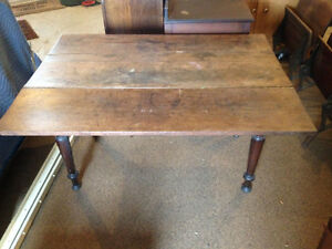 Early Country Kitchen Pine Table Kingston Kingston Area image 4