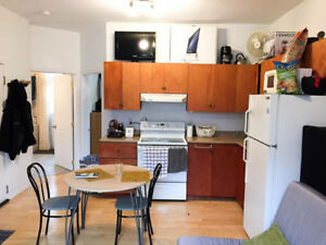 AVAILABLE FOR JULY AND AUGUST. (4 1/2) APARTMENT IN DOWNTOWN