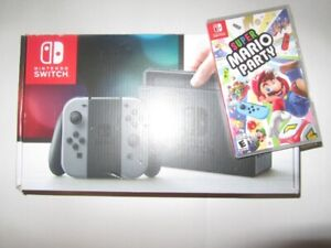 Brand new Nintendo Switch Console with Super Mario Party