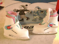 Bauer Lil Angel Recreational Ice Skates size 6