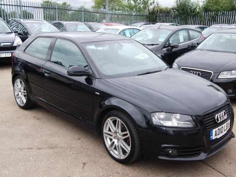 2010 audi a3 2 0 tdi s line 3dr in tilehurst berkshire. Black Bedroom Furniture Sets. Home Design Ideas