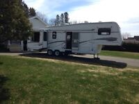 Cavendish/Sunset Campground 5th Wheel Trailer for Weekly Rental!