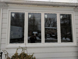 Sliding Window Casement Vinyl Hung  Save on Heat and Air