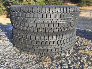 Two Good/Year P215/70R14 Winter Tires