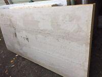 Celotex PIR insulation boards 130mm x 1.2m x 2.4m Glass tissue faced, like kingspan