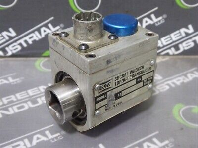 Used Gse 038250-00101 Socket Wrench Torque Transducer 2.000 Mvv At 100 Ft-lbs