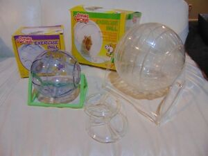 Hamster Exercise Balls (large and small)