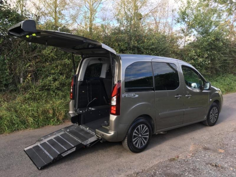 2014 Peugeot Partner Tepee 1.6 120 S 5dr WHEELCHAIR ACCESSIBLE VEHICLE 5 door...