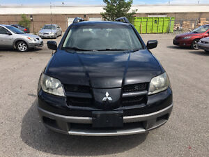 2003 Mitsubishi Outlander,CERTIFIED,ETESTED,WARRANTY,NO ACCIDENT