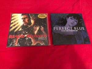 Perfect Blue and Blade Runner soundtracks *RARE*