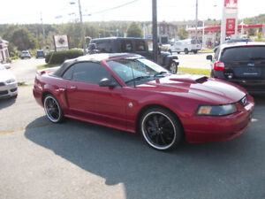 2004 Ford Mustang GT Convertible Only 102000km Winter Stored
