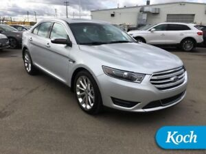 2016 Ford Taurus Limited  Nav, Moonroof, 20s, Spoiler, Htd/Coole