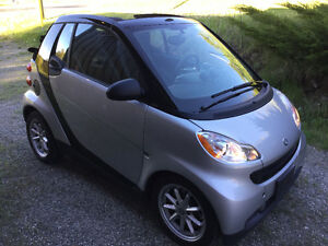 2009 Smart car  Fortwo Passion Convertible