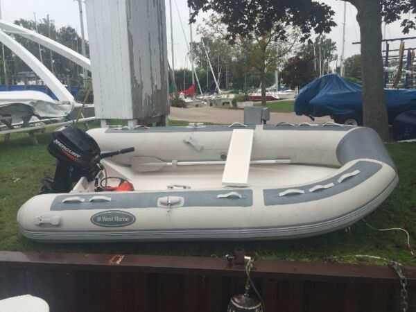 2011 Mercury West Marine Rigid Inflatable Dinghy 310