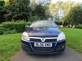Vauxhall Astra 1.6I 16V ELITE (blue) 2006