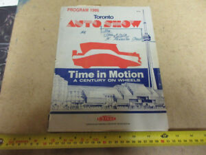 1986 TORONTO AUTO SHOW BOOK AND TORONTO STAR PAGE-VEHICLE PRICES