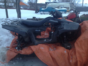 Parting out Suzuki King quad