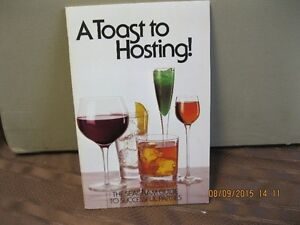 A TOAST TO HOSTING--THE SEAGRAM GUIDE TO SUCESSFUL PARTY Oakville / Halton Region Toronto (GTA) image 1