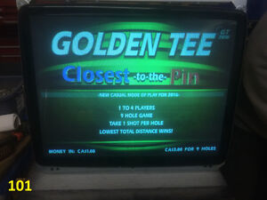 "Arcade monitors VGA 27"" working from Golf Games"