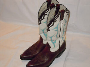 Womens Western Boots - All Leather - Excellent Condition