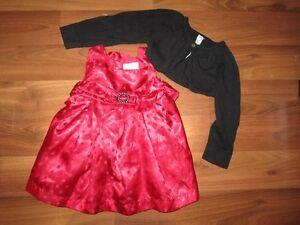 Cute Little Red Dress - Size6-12 Mths