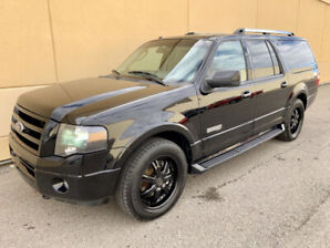 2007 FORD EXPEDITION MAX LIMITED FULLY LOADED LOW KMS MUST SEE !