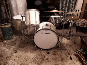 Two drums sets (Yamaha & Pearl) for one low price!