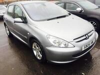 Peugeot 307 2.0HDi 136 2005MY Sport 1 OWNER 11 SERVICE STAMPS ONLY 42K DIESEL