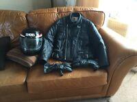 Motorbike jacket leather