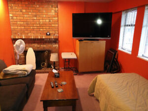 Short Term Rental -- Furnished Private Room Available Vancouver.
