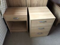 FREE Bedside unit and drawers