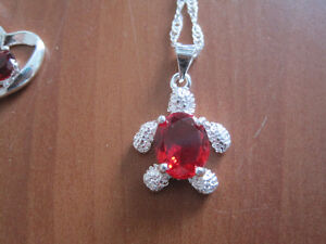 NEW Sterling silver necklaces with pendant Gatineau Ottawa / Gatineau Area image 4