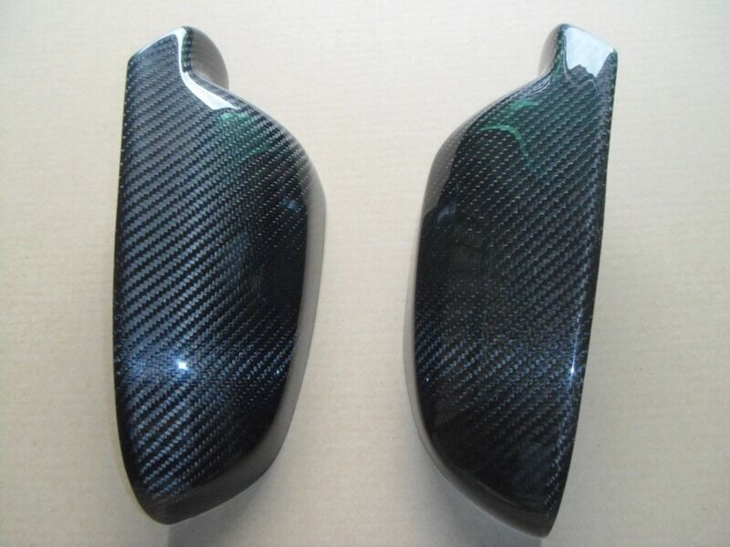 Carbon Fiber Tape-on Mirror Covers for Audi A5 A4 A6 S4 A3 2011-2014 2012 2013