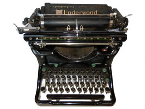 DACTYLO VINTAGE UNDERWOOD NO.6 - 1937