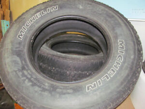 (2) Michelin LT275/70R18 tires