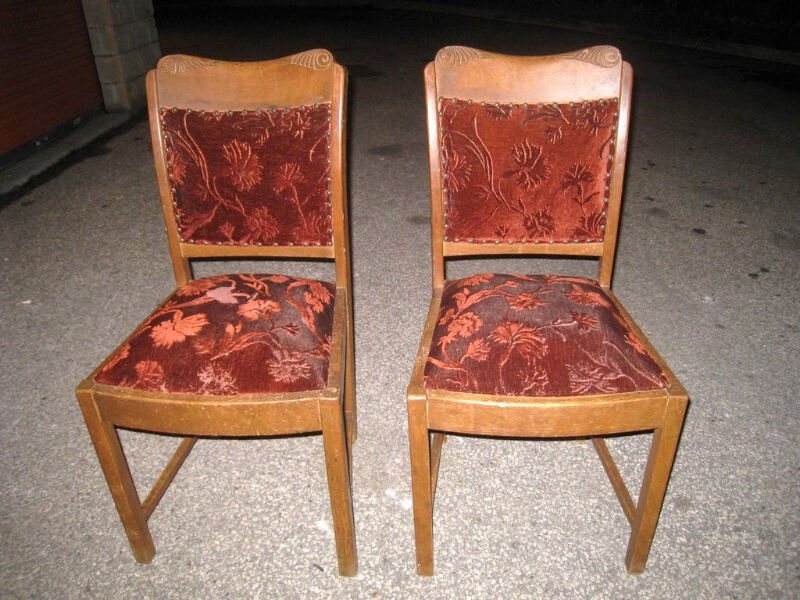 - 2 Antique Chairs Chairs & Recliners City Of Toronto Kijiji