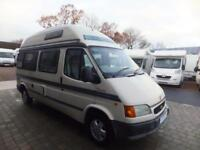 Autosleeper duetto ford transit campervan