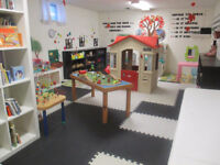 Home daycare - Part time availability