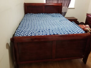 Bed/Mattress/Wardrobe/Dresser set