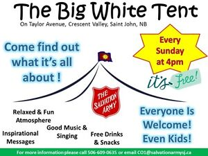 The Big White Tent