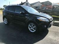 Ford Kuga 2.0TDCi ( 163ps ) 4x4 Titanium 45000 miles fsh in black