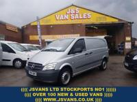 2014 14 MERCEDES-BENZ VITO 113 CDI COMPACT 2014/14 REG 1 OWNER IN SILVER DIESEL
