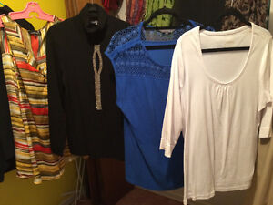 Plus Size clothing......Size Large/3x...too many to picture