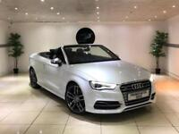 2015 AUDI S3 2.0 TFSI AUTO S-TRONIC CONVERTIBLE WHITE CAB PX RS3 GOLF R C63 A45