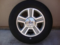 "17"" FORD F150 FACTORY WHEELS/TIRES - TRUCKS/SUV'S - CHEAP!!$$"