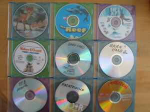 ENJOYABLE CHILDREN'S DVD MOVIES OF ALL SORTS FOR SALE